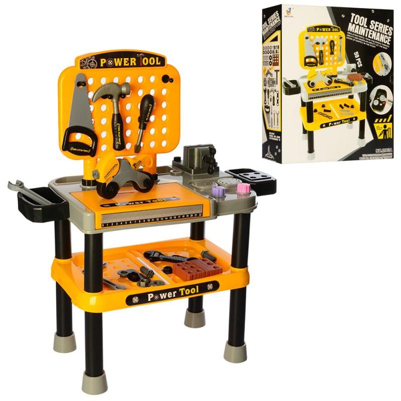 Детский набор инструментов Верстак 2063A
