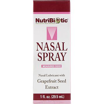 NutriBiotic, Назальный спрей, с экстрактом семян грейпфрута, 29,5мл