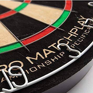 Набор для игры в дартс - сизалевая мишень ProMatch Англия + фирменные дротики, фото 2