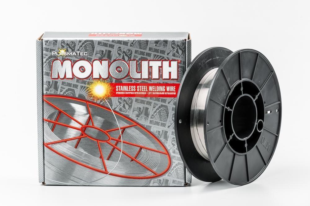 Нержавіюча дріт зварювальний ER308LSi TM MONOLITH 1,0 мм (упаковка - 1 кг)
