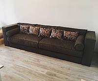 """Прямой мягкий диван с большими быльцами """"Фауст"""""""