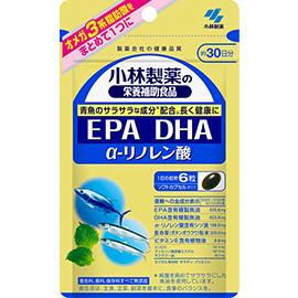 Kobayashi Pharmaceutical DHA 344 мг EPA 156 мг, α-ліноленова кислота 109 мг, 180 капс на 30 дн