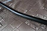 Руль для мото черный стальной дугой (вариант 2), фото 3