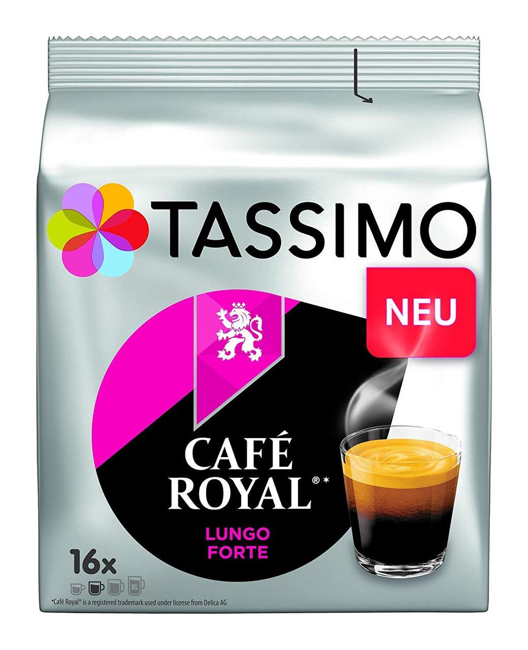 Кофе в капсулах Тассимо - Tassimo Cafe Royal Lungo Forte (16 порций)