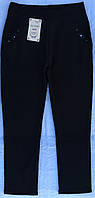 Женские брюки батал на меху в чёрном и т.синем цвете ™Ласточка 5-6-7xl, фото 1