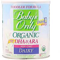 Nature's One, Baby's Only Organic, формула для младенцев, ДГК и арахидоновая кислота, молочный продукт, 12,7 унц. 360 г