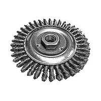Щетка дисковая для УШМ, жесткая проволока 125мм, посадка М14//Makita