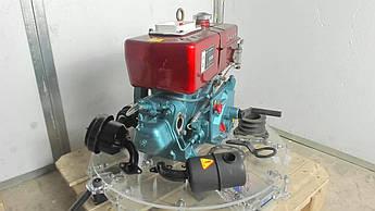 Двигатель (В сборе)  на Мотоблок 175N (7  Hp Лошадиных Сил) (с электростартером)