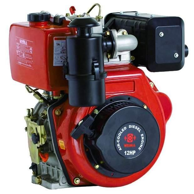 Дизельный двигатель Weima WM188FBE (вал шпонка) (21009) +БЕСПЛАТНАЯ ДОСТАВКА!
