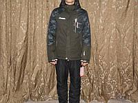 Горно-лыжный мужской костюм хаки L.