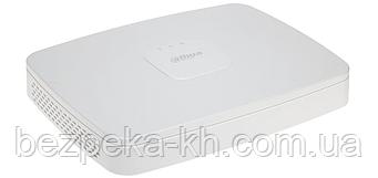 8-канальний мережевий 4K відеореєстратор c PoE Dahua DHI-NVR2108-8P-4KS2