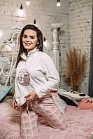 Женская пижама махра+флис, M, BellaSecret