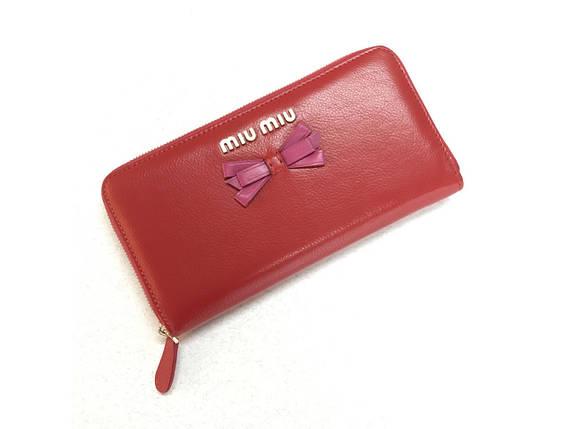Красивий жіночий шкіряний гаманець, фото 2