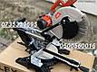 Пила торцовочная (торцовка) LEX LXCM 305 - уклон на две стороны. Ременная передача 3000 Вт, фото 5