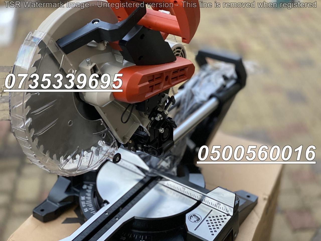 Пила торцовочная (торцовка) LEX LXCM 305 - уклон на две стороны. Ременная передача 3000 Вт