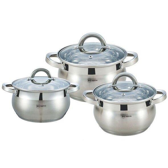 Набор Кухонной посуды Rainstahl RS 1637-06, 6 предметов