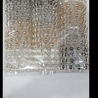 Резинка силиконовая спиралька с бусинками