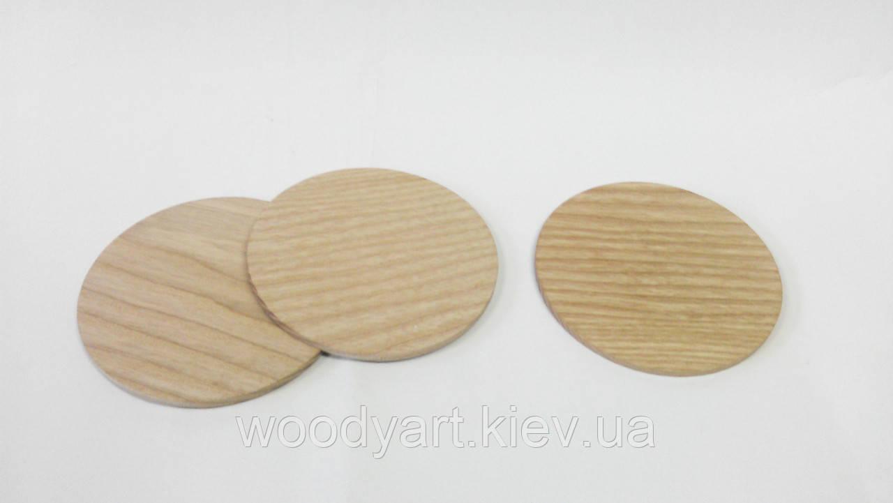 Костеры деревянные, круглые (4 мм)