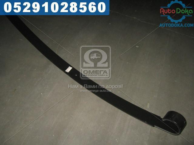 Лист рессоры №2 передний , задний ГАЗ 3302 (75х11-1525) усиленную с ушком (производство  Чусовая)  3302-2902102-01-10