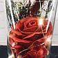 Роза в колбе с Led подсветкой - Красная, фото 2