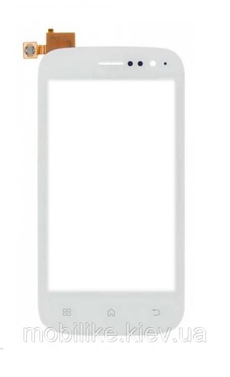 Сенсорный экран Fly iQ442 (Miracle) белый