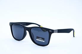 Солнцезащитные очки мужские Клабер 5044 черно желтые