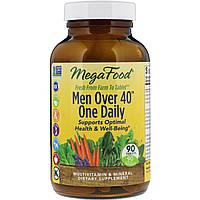 MegaFood, Для мужчин старше 40 лет, одна таблетка в день, без железа, 90 таблеток, официальный сайт
