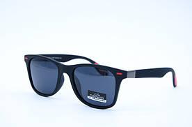 Солнцезащитные очки мужские Клабер 5044 черно красные