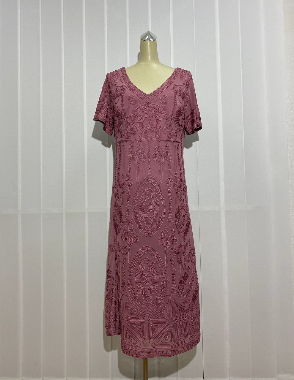 Платье Morys Tune розовое нарядное РАЗМЕР+