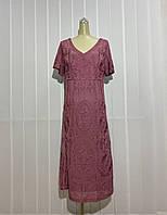 Платье Morys Tune розовое нарядное РАЗМЕР+, фото 1