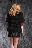 Жилет из черной испанской ламы, фото 2
