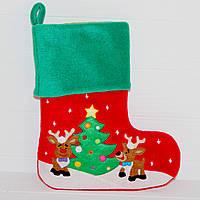 Рождественский носок Новогодний декор Украшение дома