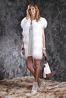 Жилет из белой испанской ламы, фото 1