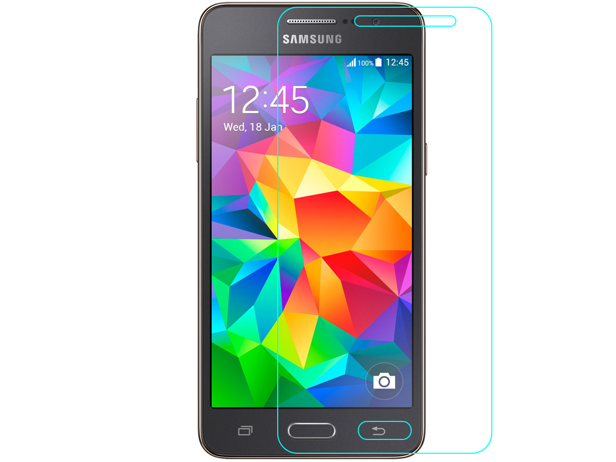Стекло защитное Tempered Glass Samsung Grand Prime G530 / G531