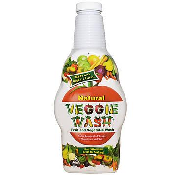 Veggie Wash, Средство для мытья фруктов и овощей, 32 унции (946 мл)