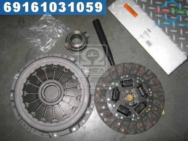 Сцепление ГАЗ 406 (диск нажимной+ведомый+подшник ) (универсальное) (RIDER)  406-1601000-10