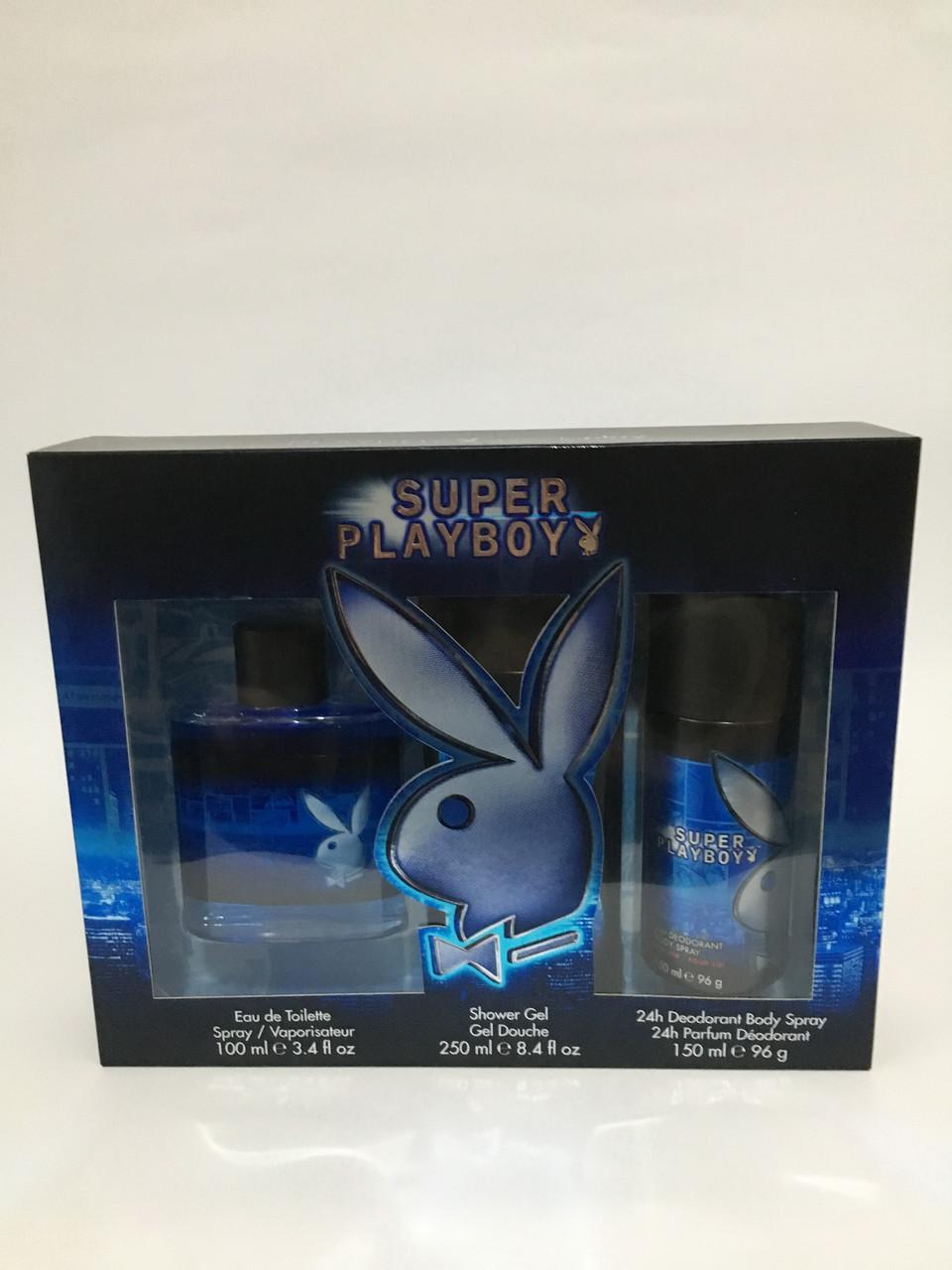 Набір парфумерний чоловічий Playboy Super Playboy