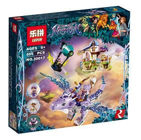 Конструктор Lepin 30017 Эйра и дракон Песня ветра. Эльфы (аналог Lego Elves 41193)