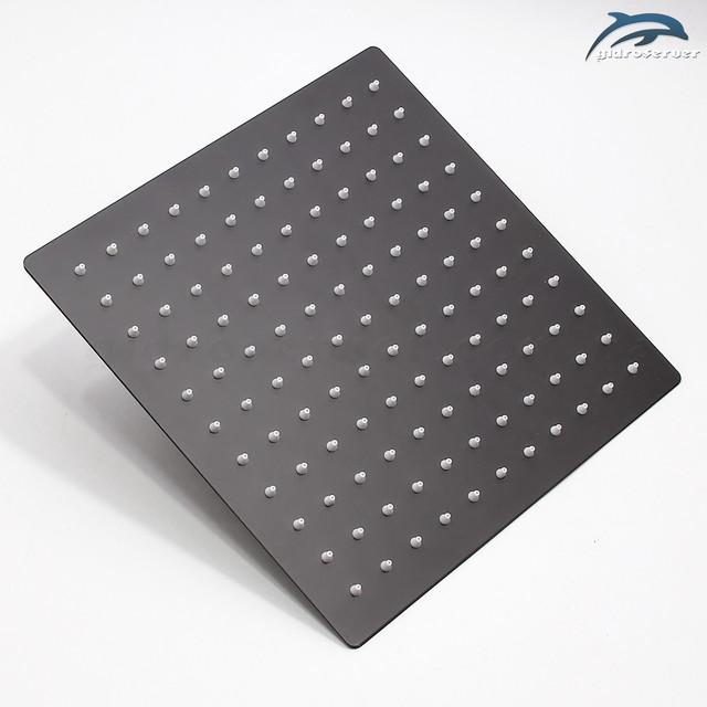 Лейка тропического душа для душевой системы скрытого монтажа BSKT-03 квадратной формы.