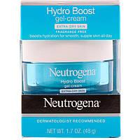 """Neutrogena, Гель-крем """"Гидробуст"""" для очень сухой кожи, без отдушек, 1,7 унц. (48 г)"""