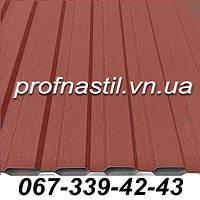 Профнастил терракотовый ПС-12 RAL 3009 Винница, фото 1