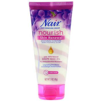 Nair , Nourishing Skin Renewal, Hair Remover Cream With Grape Seed Oil, 3 oz (85 g)