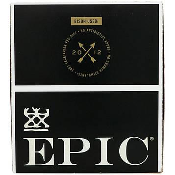Epic Bar, Бизон, Незасоленный бекон и клюква, 12 батончиков, 1,3 унции (37 г) каждый
