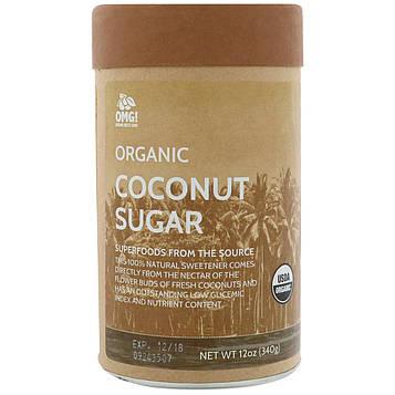 OMG! Organic Meets Good, Органический кокосовый сахар, 12 унц. (340 г)