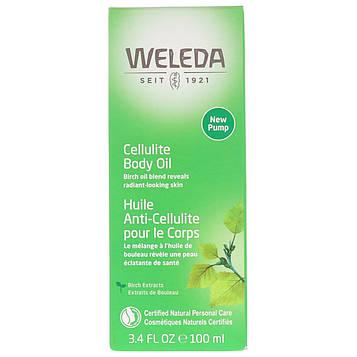 Weleda, Антицеллюлитное масло, с экстрактом миндаля, для чувствительной кожи, 100 мл