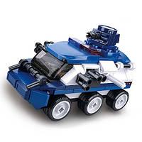 """Конструктор SLUBAN M38-B0760C """"Police"""": броньований автомобіль поліції, фігурка, 113 дет."""