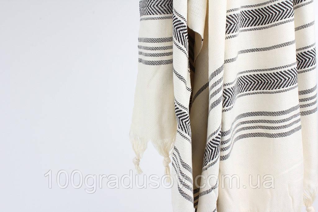Полотенце для хамама Lotus (Белый)