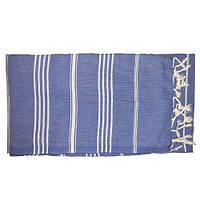 Полотенце для турецкой бани Kemer (Синий)