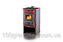 Печь камин Tim Sistem Magic stove (Бордовая)