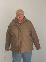 Практичная теплая куртка батал